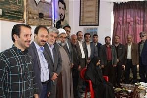 دیدار دانشگاهیان دانشگاه آزاد اسلامی کاشان با خانواده سردار شهید معمار