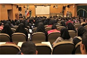 مراسم گرامیداشت هفته بسیج در دانشگاه آزاد اسلامی واحد کرج  برگزار شد