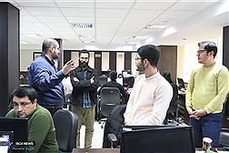 بازدید دبیر شورای تبیین مواضع بسیج دانشجویی از باشگاه خبرنگاران  دانشجویی