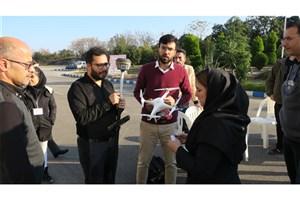 """دوره آموزشی""""پرواز پهپادهای فتوگرامتری"""" در دانشگاه آزاد اسلامی واحد رامسر برگزار شد"""