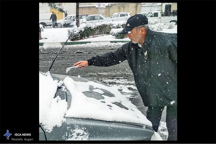 غافلگیری برف پائیزی