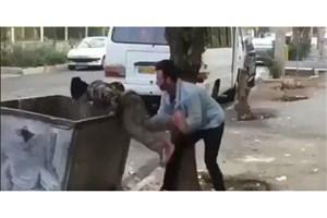 عاملان آزار کودک زبالهگرد تسلیم پلیس شدند