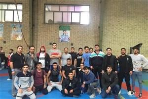قهرمانی تیم کشتی دانشگاه آزاد اسلامی بجنورد در المپیاد دانشجویی استان خراسان شمالی