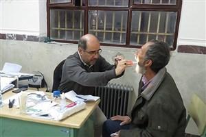 ارائه خدمات درمانی دانشگاه علوم پزشکی آزاد اسلامی تهران در روستای کریمآباد پاکدشت