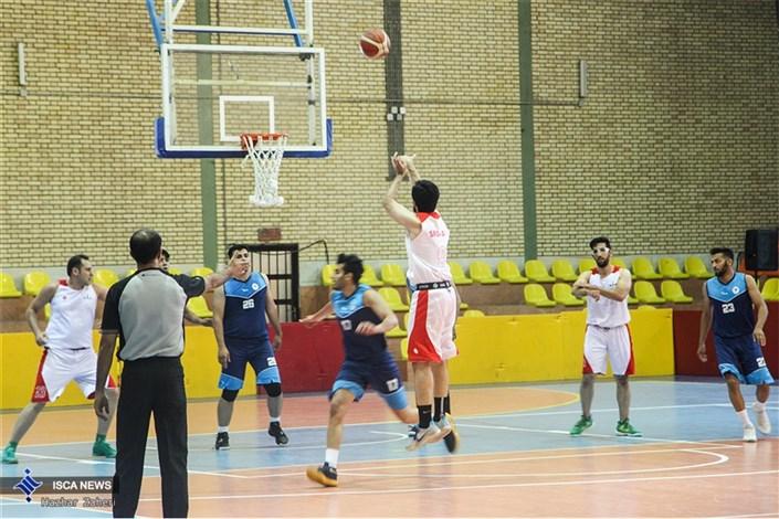 افتتاح مسابقات بسکتبال دانشگاه آزاد اسلامی