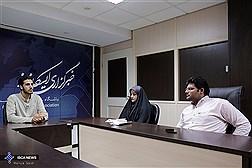 بازدید دبیر اتحادیه انجمن های اسلامی دانشجویان مستقل از باشگاه خبرنگاران دانشجویی