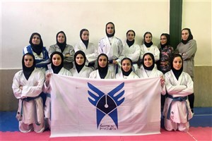 پیرورزی تیم کاراته دانشگاه آزاد در هفته دوم سوپرلیگ بانوان