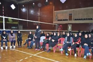 صعود8 تیم به مرحله حذفی مسابقات والیبال دانشجویان دختر