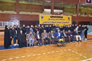 مسابقات والیبال دسته یک والیبال خواهران دانشگاه آزاد اسلامی به نیمه نهایی رسید