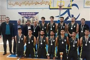 نایب قهرمانی تیم دانشگاه آزاد اسلامی قزوین در مسابقات بسکتبال دانشجویان کشور
