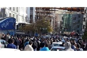 تجمع مسالمت آمیز طرفداران باشگاه استقلال