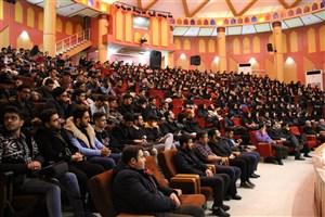 مراسم روز دانشجو در واحد لاهیجان برگزار شد