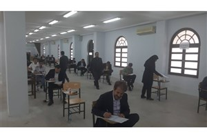 آزمون جامع دوره دکتری تخصصی  با حضور 38 دانشجو در واحد قشم برگزار شد