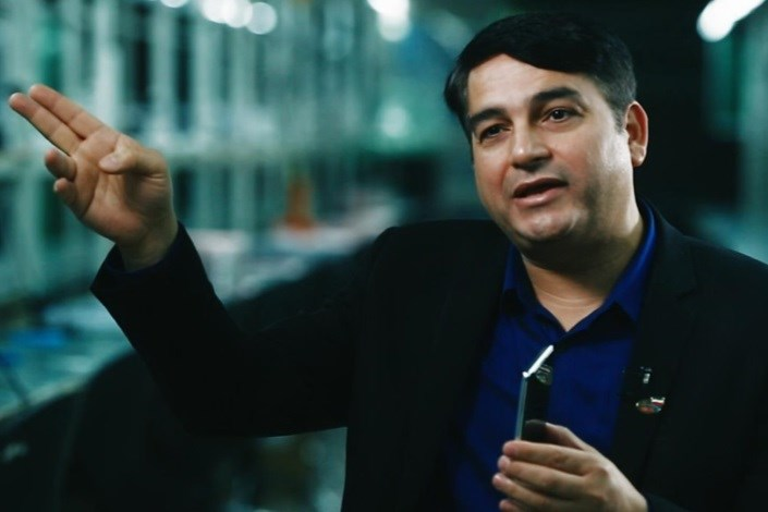سعیدی مدیر عامل جی ال ایکس