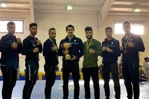 پیروزی ارزشمند تیم ووشوی دانشگاه آزاد مقابل پاس ناجا و هیئت البرز