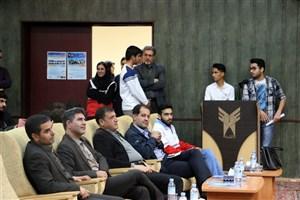 آیین گرامیداشت روز دانشجو در واحد سمنان برگزار شد