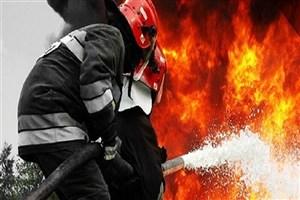 آتش سوزی در منزل مسکونی /2 کودک  مصدوم شدند