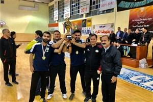 احدی در مسابقات سوپر لیگ کردستان قهرمان شد