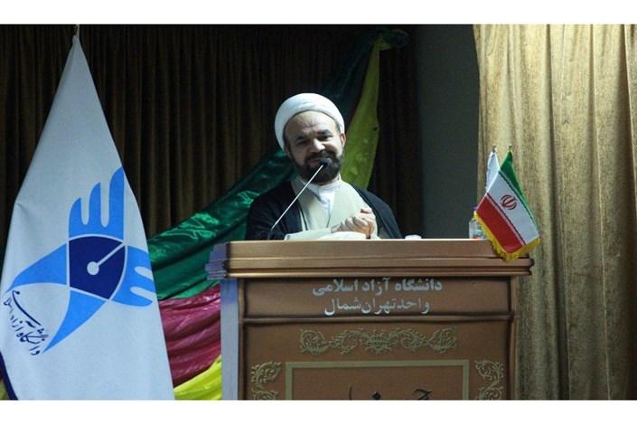 مراسم روز دانشجو با حضور معاون فرهنگی دانشجویی دانشگاه آزاد اسلامی در واحد تهران شمال