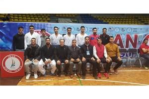 سومین پیروزی تیم کاراته دانشگاه آزاد در مسابقات امروز لیگ