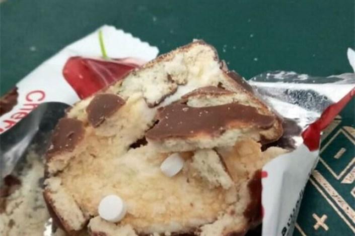 جاسازی قرص در کیک و مواد خوراکی