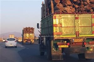 جولان کامیونها در روزهای آلوده/جریمه 90 هزار تومانی بازدارنده نیست
