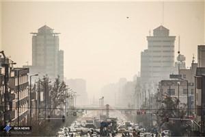 هوای تهران آلوده شد/شاخص 115