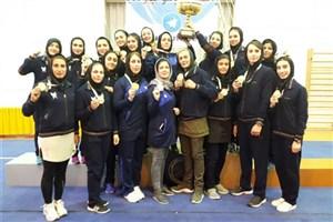 آغاز لیگ برتر ووشو بانوان با حضور تیم دانشگاه آزاد
