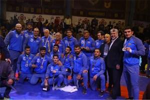 تیم کشتی دانشگاه آزاد به نائب قهرمانی جهان رضایت داد