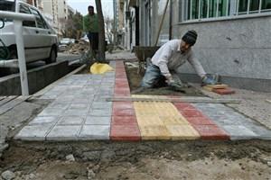 اجرای طرح پیاده روسازی معابر با مشارکت شهروندان