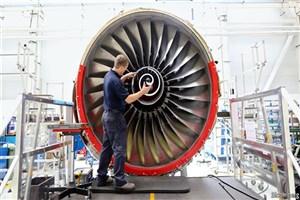 چرخش موتور هواپیما با کمک شرکت دانش بنیان