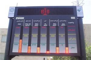 کدام مناطق تهران  دستگاه سنجش آلودگی هوا ندارند؟