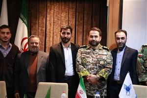 انتصاب مسئول بسیج دانشجویی دانشگاه آزاد اسلامی تبریز
