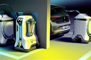 رباتهایی که خودروها را شارژ می کنند