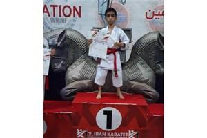 Najafabad SAMA IAU Student Becomes Champion in 2019 Iran Zamin Karate Cup