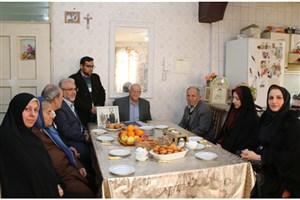 دیدار دانشگاهیان دانشگاه علوم پزشکی آزاد اسلامی تهران با خانواده شهید مسیحی