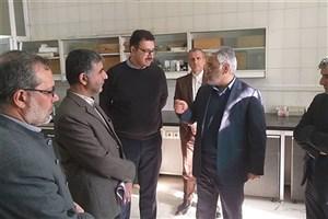 بازدید دکتر طهرانچی از دانشگاه آزاد واحد علوم و تحقیقات