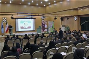 مراسم گرامیداشت حماسه مردمی 9 دیماه در واحد کرج برگزار شد