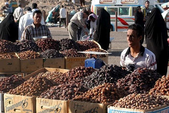 بازارچه خرما فروشان در دارخوین
