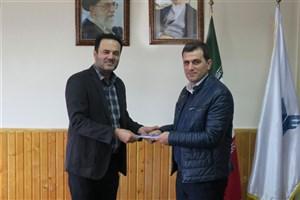 رئیس باشگاه پژوهشگران جوان دانشگاه آزاد اسلامی رامسر منصوب شد