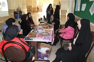 برپایی نمایشگاه حجاب و عفاف در آموزشکده سما واحد اندیشه