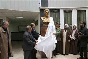 سردیس شهید مهدی باکری رونمایی شد