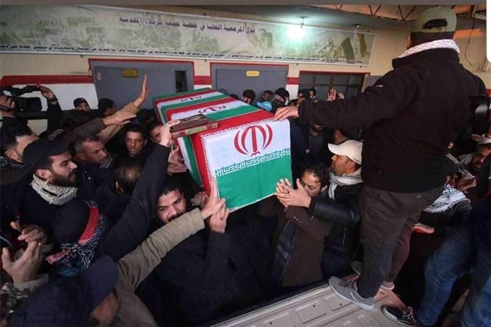 تشییع پیکر شهید سپهبد سلیمانی در بغداد و کاظمین