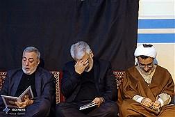 مراسم سوگواری شهادت سپهبد سلیمانی در دانشگاه آزاد اسلامی
