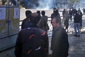 اعتراض دانشجویان تبریز به نماینده مذاکرهطلب