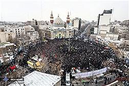 اجتماع هیأتهای تهران در میدان فلسطین