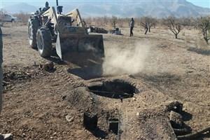 ۲۷۱ حلقه چاه غیرمجاز مسدود شد/ توقیف ۷ دستگاه حفاری غیر مجاز