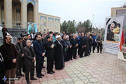 مراسم یادبود،سردار سپهبد شهید سلیمانی  در دانشگاه آزاد اسلامی قم