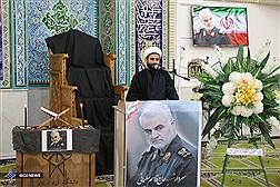 مراسم یادبود سپهبد شهید سلیمانی در دانشگاه آزاد اسلامی اردبیل