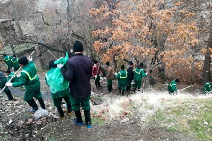 احداث پارک در روددره فرحزاد
